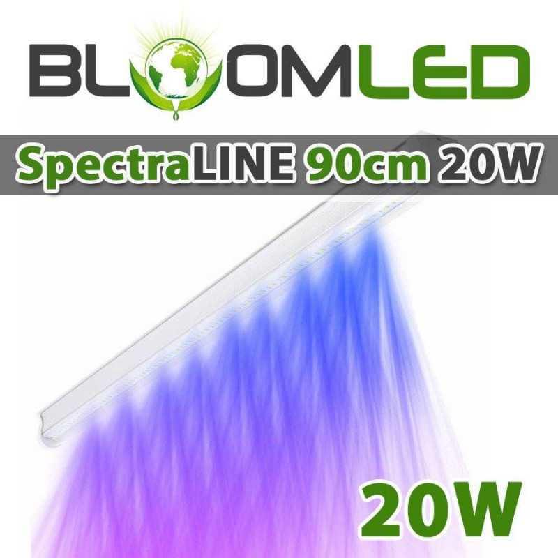 Barre led horticole SpectraLINE 120cm 27W - Eclairage blanc
