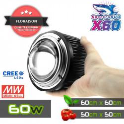 SPOT 9W - Encastrable avec LEDs haute performance CREE pour plantes vertes
