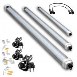 RAIL de 100cm blanc pour 45W - 1 allumage