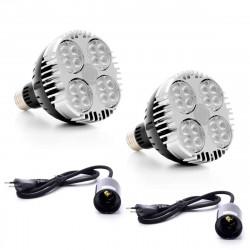 SPOT 45W sur rail - Spot horticole LED pour plantes vertes et murs végétaux