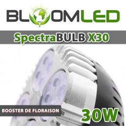 SPOT 50W 360° - Encastrable avec LEDs à spectre horticole pour plantes vertes et murs végétaux