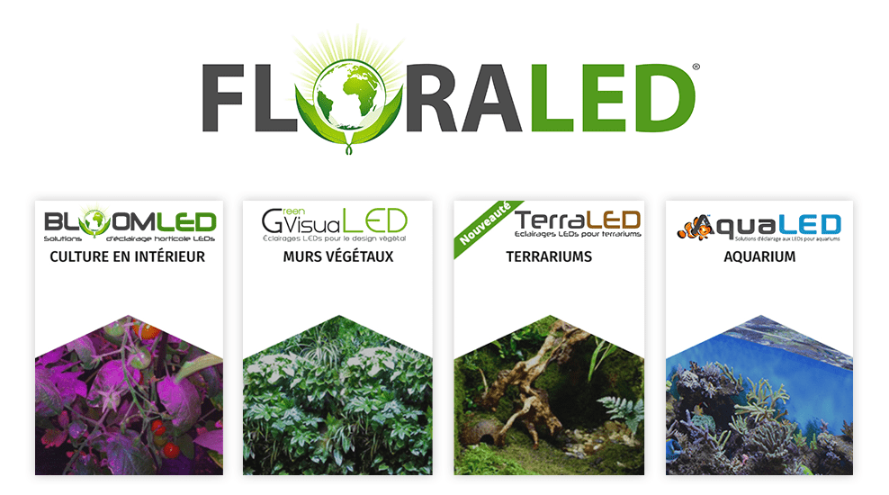 Floraled eclairages horticole aquariophile led