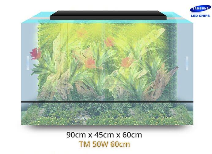 - terrarium terraled tm 60cm 50w1 - Lampes horticoles LEDs pour terrariums tropicaux, paludariums – TerraLED