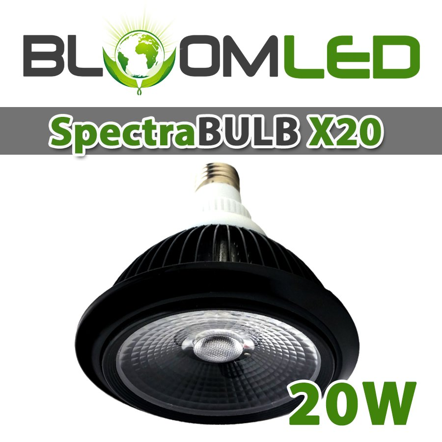 spectrabulb x20 ampoule horticole led floraled. Black Bedroom Furniture Sets. Home Design Ideas